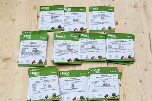 Seminte ecologice din Anglia de dovlecei, brocoli, conopida