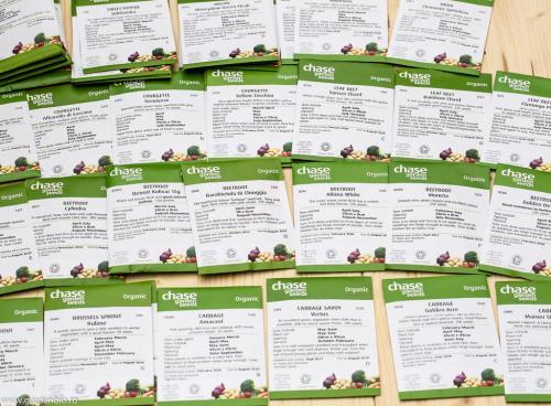 Seminte ecologice din Anglia de la organiccatalogue.com