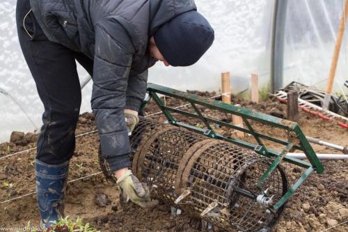 Pregatirea rolei pentru semanare, plantare.