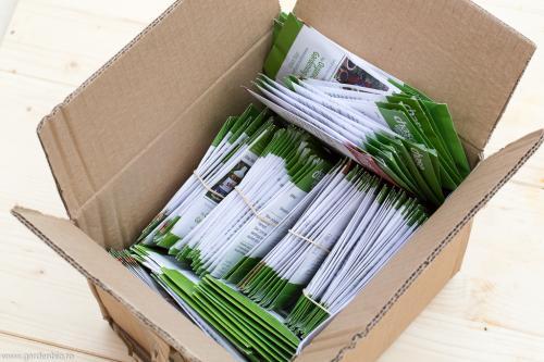 Semințe certificate ecologic