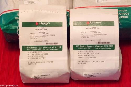 Semințe ecologice de măzăriche, le folosim ca îngrășământ verde